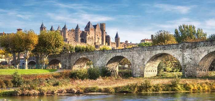 Carcassonne Pont Vieux