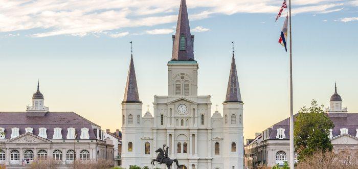 Qué ver en Nueva Orleans, Catedral de San Luis de Nueva Orleans