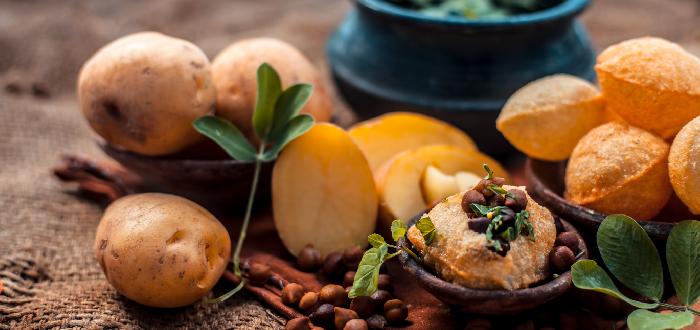 Comida típica de India | Pani Puhri