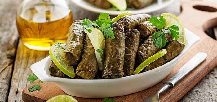 Comida típica de Turquía. Dolma