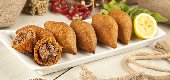 Comida típica de Turquía. Köfte