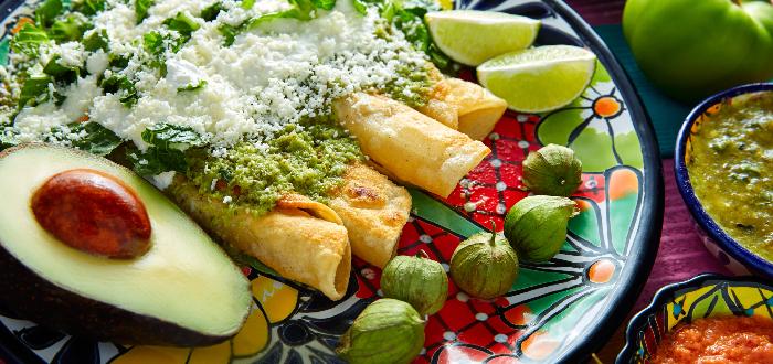 Comida típica mexicana | Enchiladas