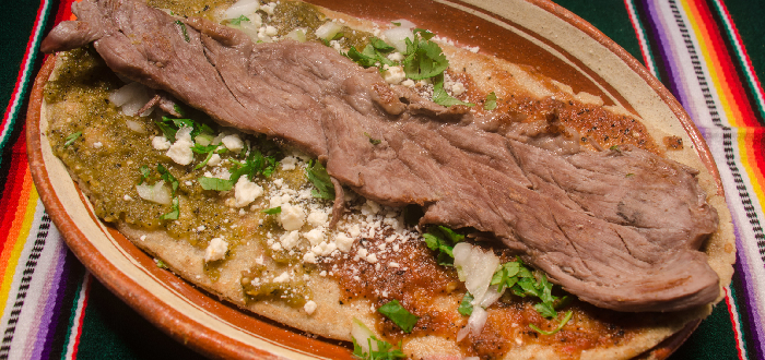 Comida típica mexicana | Huarache