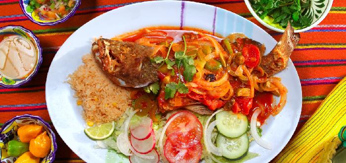 Comida típica mexicana | Pescado a la Veracruzana