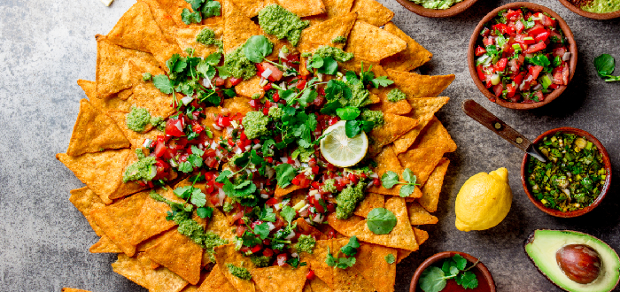 Comida típica mexicana | Totopos