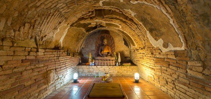 Qué ver en Chiang Mai Wat Umong Suan Phutthatham
