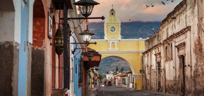 Qué ver en Guatemala. El Arco de Santa Catalina