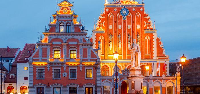 Qué ver en Riga| Casa de los Cabezas Negras