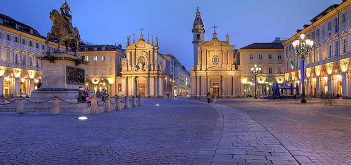 Qué ver en Turín   Piazza San Carlo