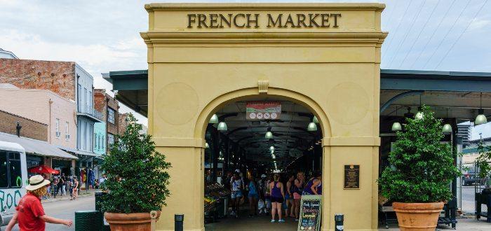 Qué ver en Nueva Orleans, Shops of the Colonnade - French Market