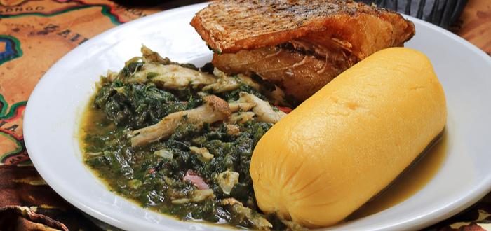 Comida típica de Angola. Calulu