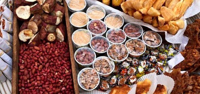 Comida típica de Angola. Quitutes