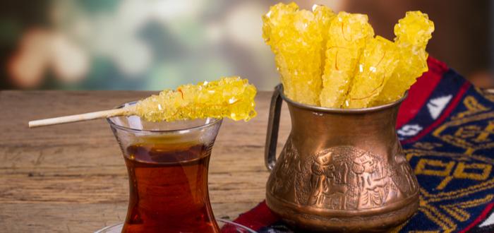 Comida típica de Irán. Nabaat