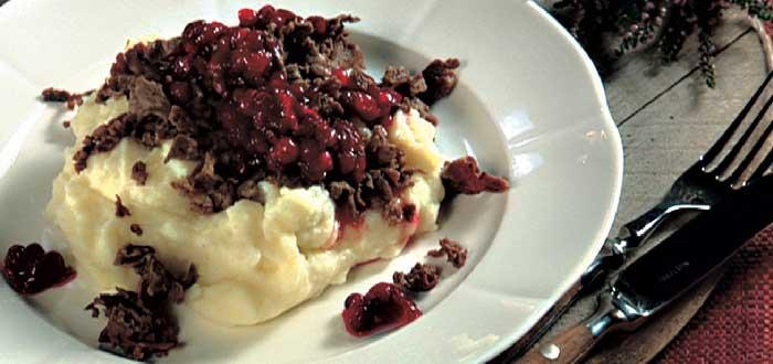 Comida tíìca de Finlandia : oronkäristys