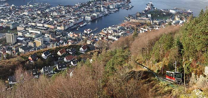 Qué ver en Bergen | Fløyen