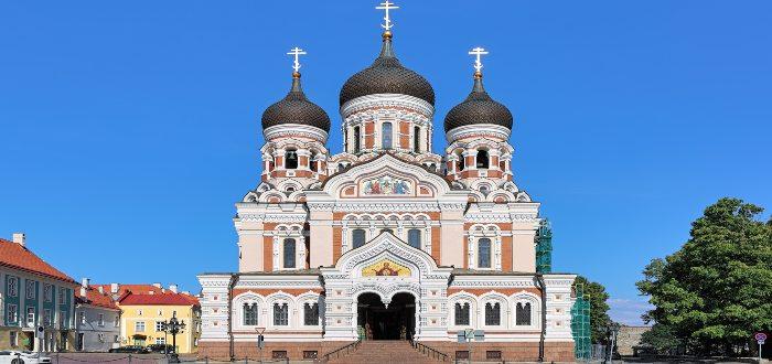 Qué ver en Estonia, Catedral de Alejandro Nevski de Tallin
