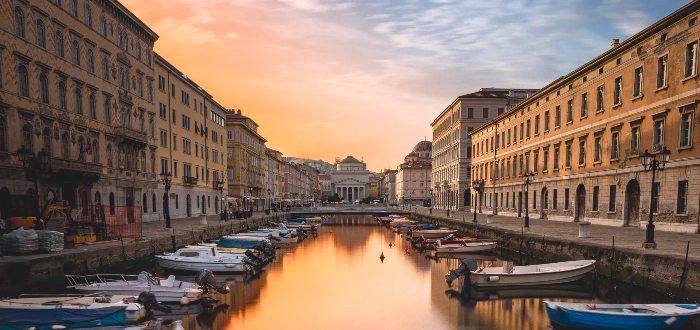 Qué ver en Trieste, Gran Canal de Trieste