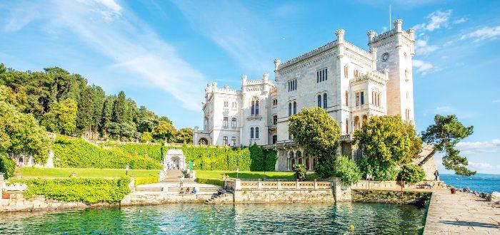 Trieste, Castillo Miramare