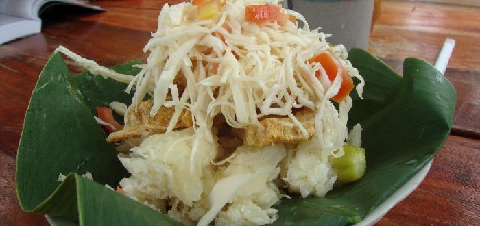 comida típica de Nicaragua Vigorón