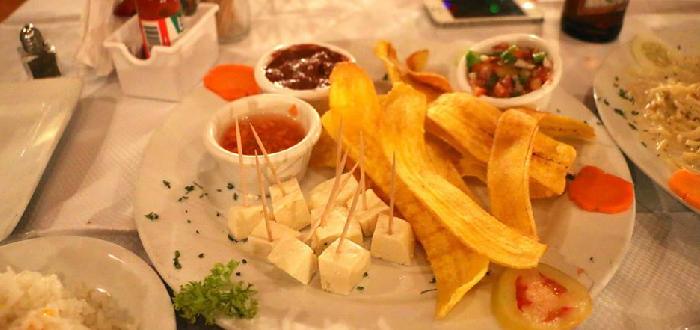 comida típica de Nicaragua tajadas