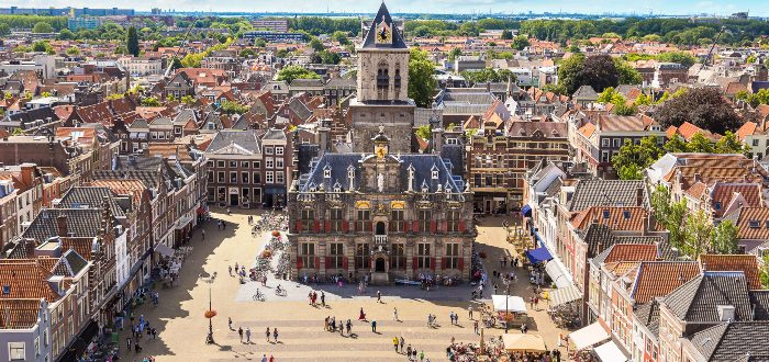 Ciudades de los Países Bajos, Delft