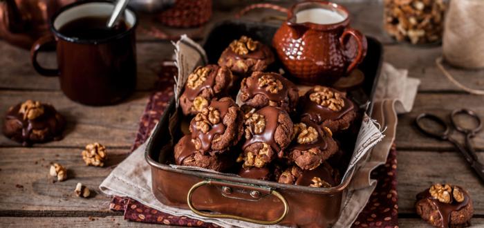 Comida típica de Nueva Zelanda. Afghan Biscuits