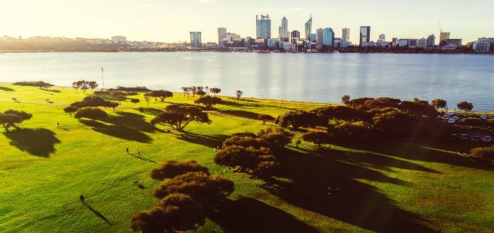 Kings Park en Australia Occidental
