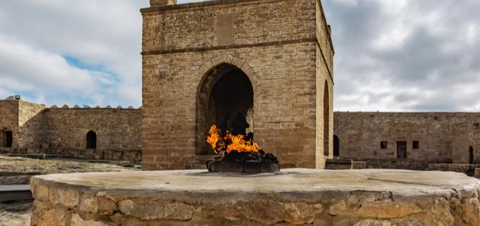 Qué ver en Azerbaiyán. Ateshgah de Baku
