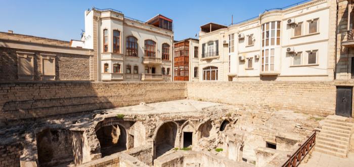 Qué ver en Azerbaiyán. Palacio de los Shirvanshah