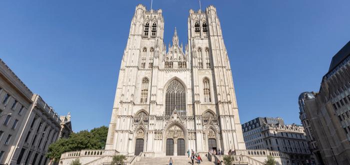 Qué ver en Bélgica. Catedral de San Miguel y Santa Gúdula de Bruselas