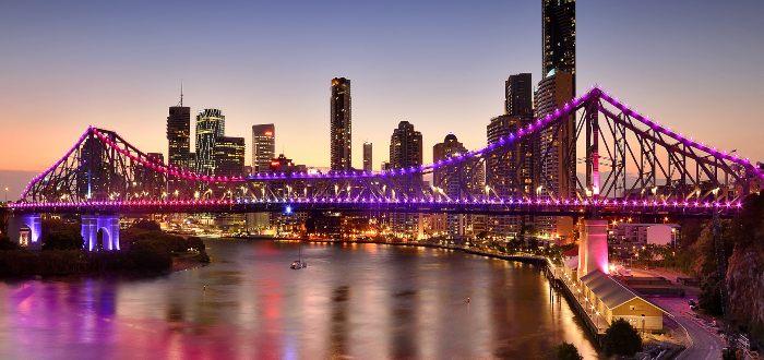 Qué ver en Brisbane, Puente Story