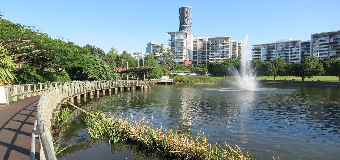 Qué ver en Brisbane, Roma Street Parkland
