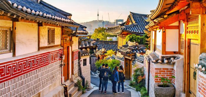 Qué ver en Corea del Sur. Bukchon Hanok Village