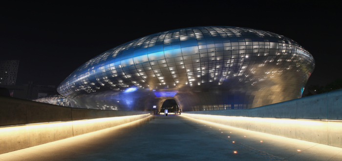 Qué ver en Corea del Sur. Dongdaemun Design Plaza
