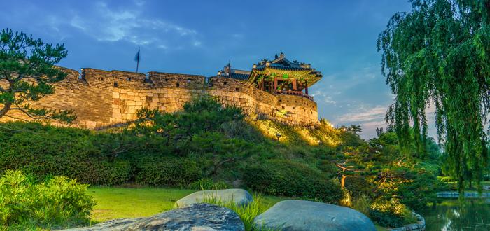 Qué ver en Corea del Sur. Fortaleza de Hwasong