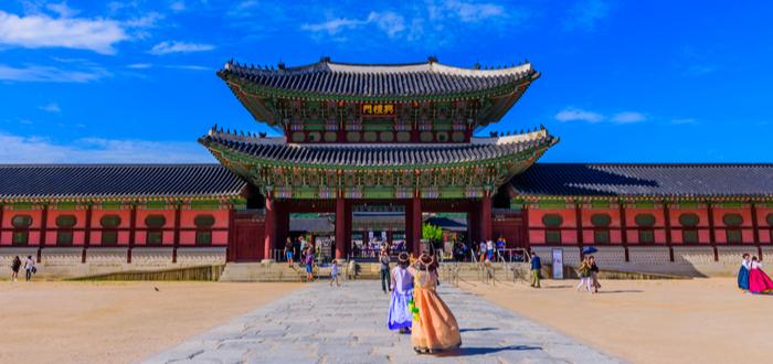 Qué ver en Corea del Sur. Gyeongbokgung