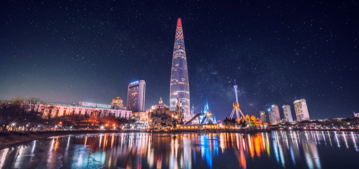 Qué ver en Corea del Sur. Lotte World Tower