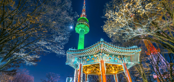 Qué ver en Corea del Sur. N Seoul Tower