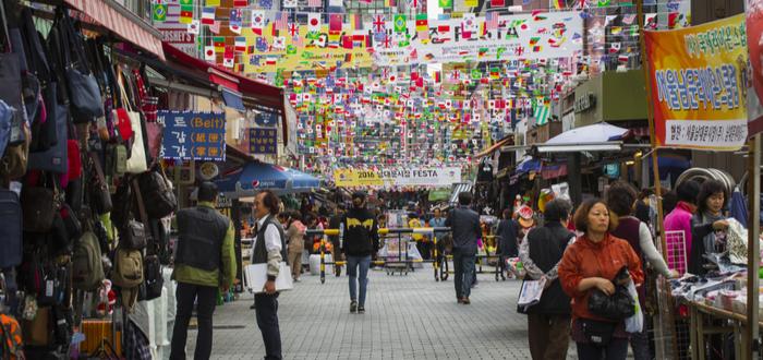 Qué ver en Corea del Sur. Namdaemun Market