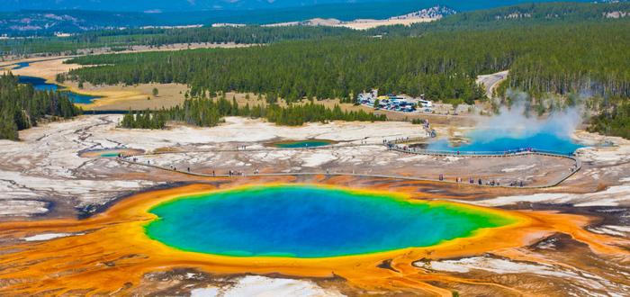 Qué ver en Estados Unidos. Parque Nacional Yellowstone