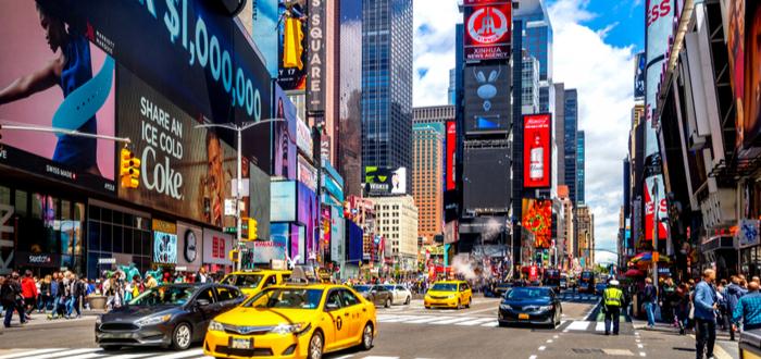 Qué ver en Estados Unidos. Times Square