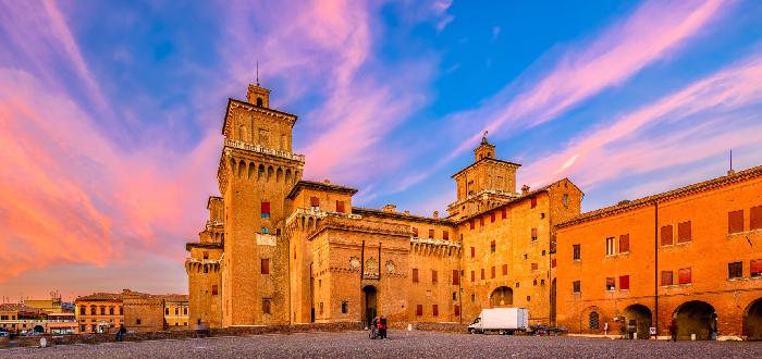 Qué ver en Ferrara   Castillo de Los Este