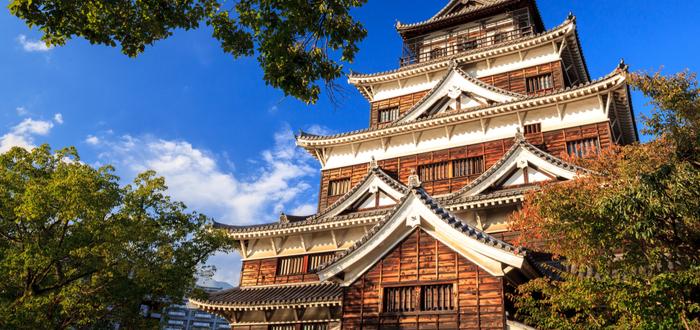 Qué ver en Hiroshima. Castillo de Hiroshima