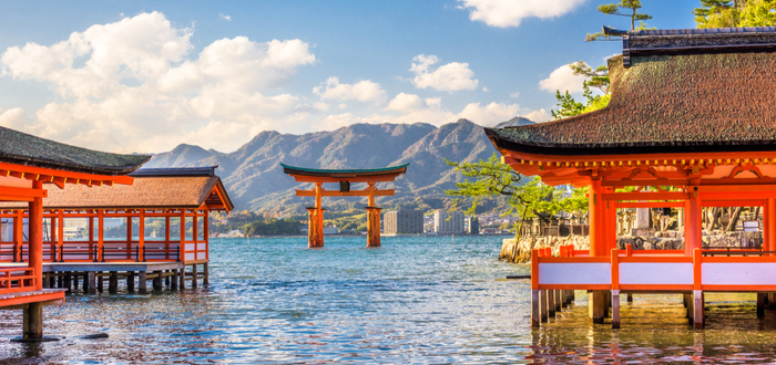 Qué ver en Hiroshima. Itsukushima