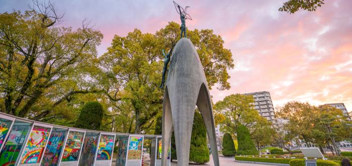 Qué ver en Hiroshima. Monumento a la Paz de los Niños