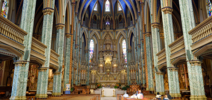 Qué ver en Ottawa. Basílica catedral de Nuestra Señora