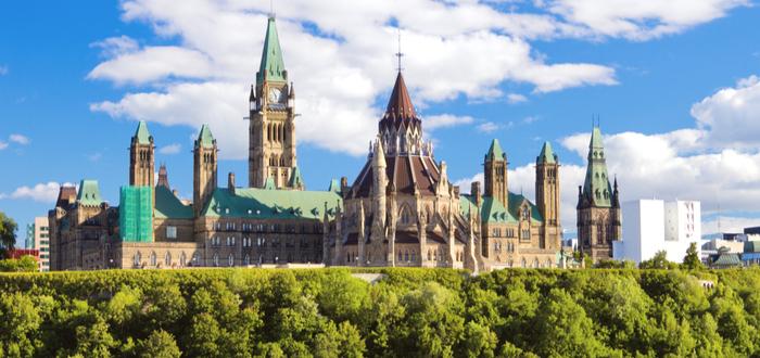 Qué ver en Ottawa. Parlamento de Canadá