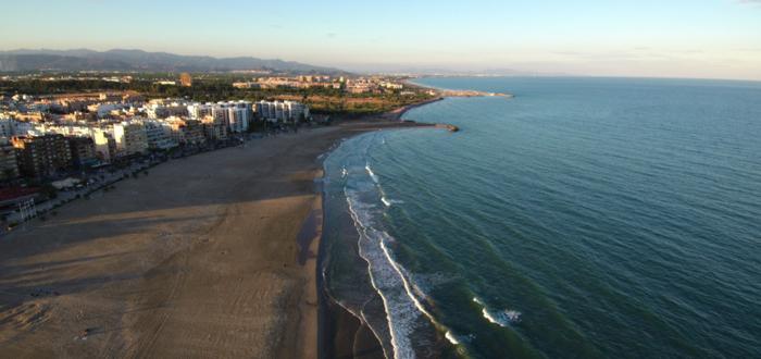 Qué ver en Sagunto. Playa del Puerto de Sagunto
