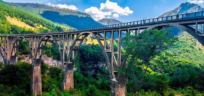 Qué ver en Montenegro | Durdevica Tara Bridge