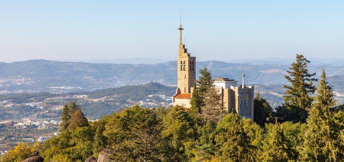 Qué ver en Guimaraes, Santuario de Penha
